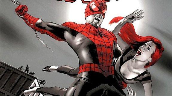 Картинка с вариантной обложки: настоящий Вампир-паук более жуткий