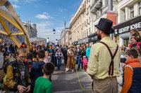 Площадка фильма «Цирк»
