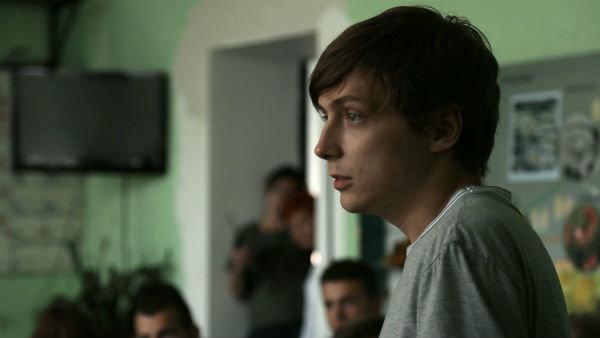 Александр Горчилин на съемках фильма «Ученик»