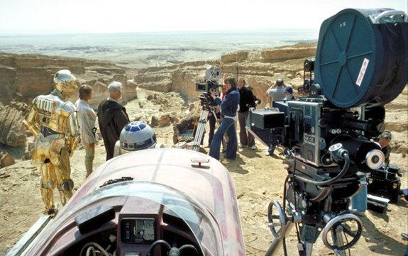 Съемочная площадка эпизода «Новая надежда»