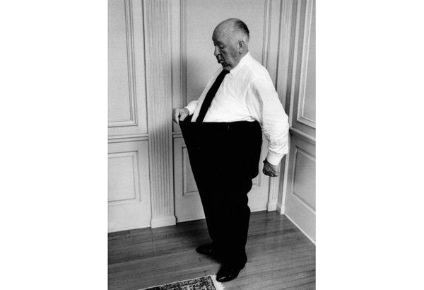 Альфред Хичкок в1974 году.