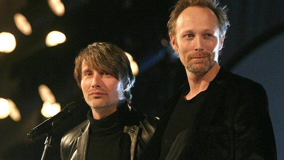 Мадс Миккельсен и Ларс Миккельсен