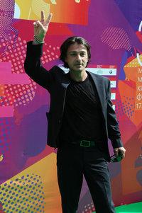 Василий Степанов со спутницей