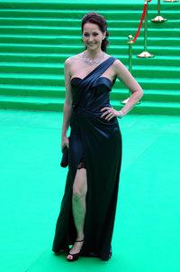 Ольга Кабо в платье Christian Dior и украшениях Carrera y Carrera