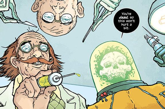 Фрагмент комикса «Манхэттенские проекты»