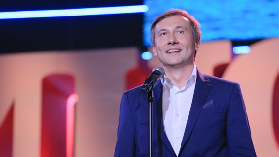 Николай Лебедев на церемонии открытия