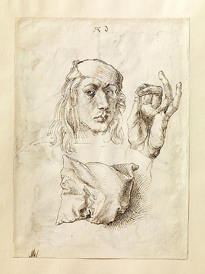 «Автопортрет» Дюрера 1493 года