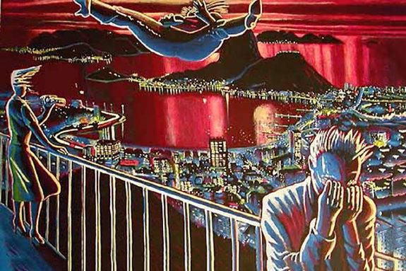 Картина Роберта Ярбера «Разложение экстаза»