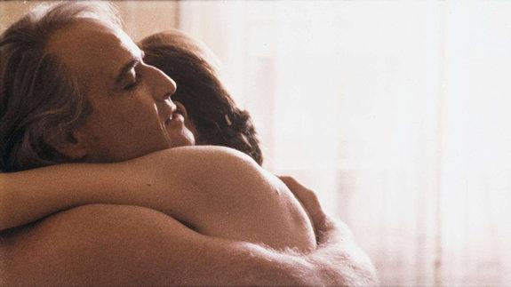 Кадр из фильма «Последнее танго вПариже»