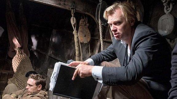 Кристофер Нолан насъемках фильма «Дюнкерк»