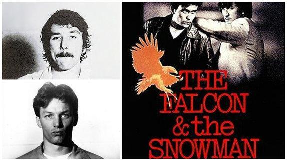 На фото: Эндрю Долтон и Кристофер Бойс. Постер фильма «Агенты Сокол и Снеговик»