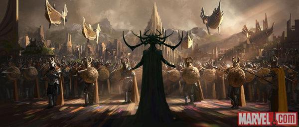 Концепт-арт к фильму «Тор: Рагнарёк»