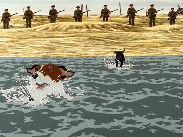 Кадр из мультфильма «Отчаянные псы»