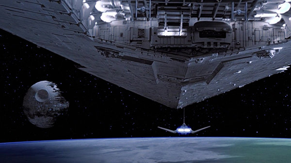 Кадр из фильма «Звездные войны: Возвращение джедая»