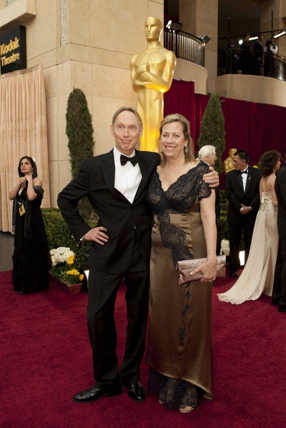 Генри Селик с супругой