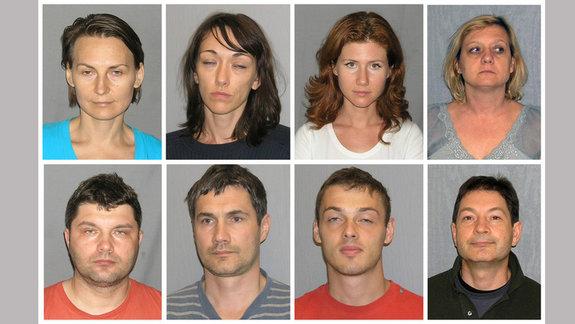 «Нелегалы», арестованные в США в 2010 году