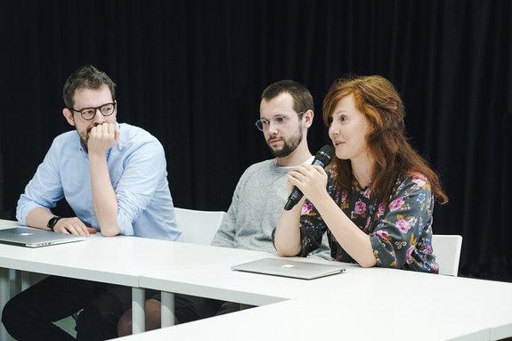 Юлия Сапонова, Антон Сазонов, Сергей Рамз / Фото: Элен Нелидова