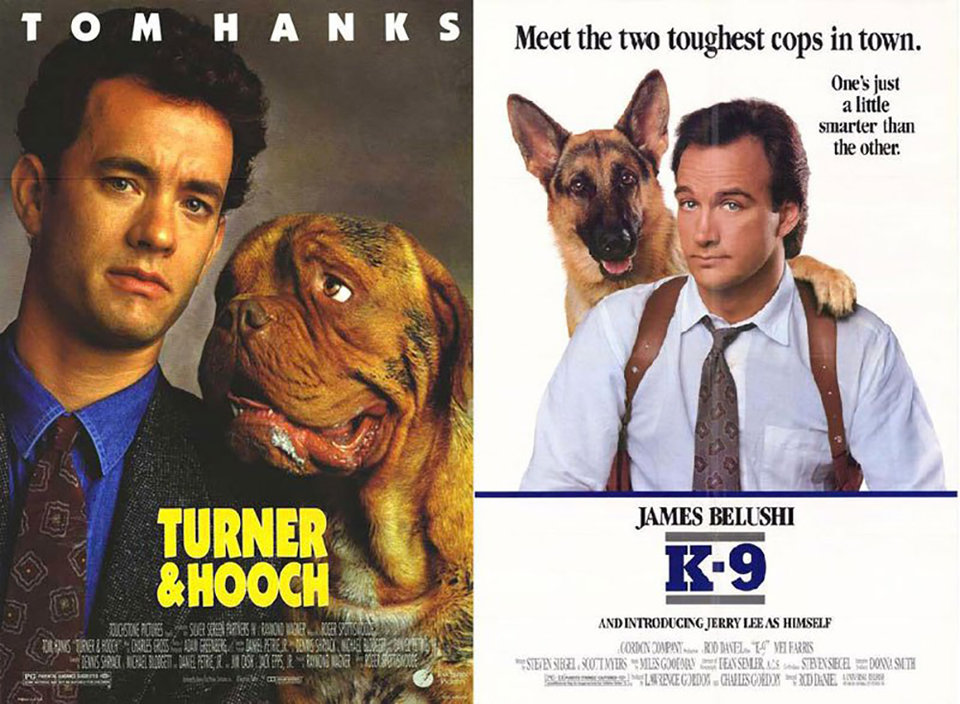 «Тернер иХуч» и «К-9: Собачья работа»