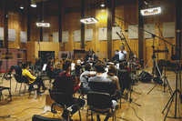 Запись музыки для фильма «Родина»
