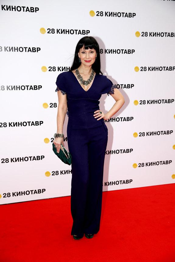 Актриса Нонна Гришаева / Пресс-служба фестиваля «Кинотавр»