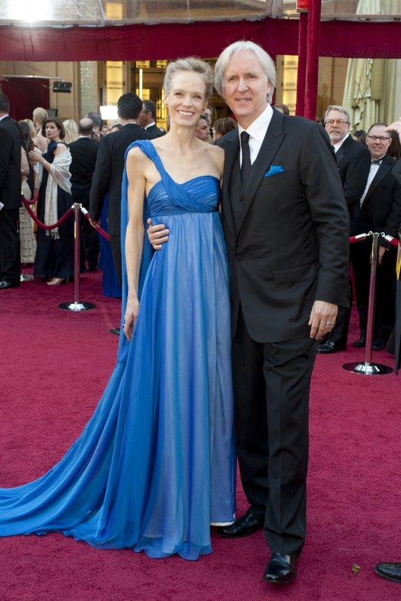 Джеймс Кэмерон с супругой