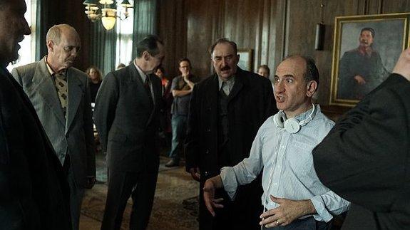 Армандо Ианнуччи насъемках фильма «Смерть Сталина»