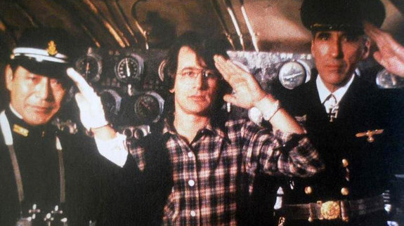 Стивен Спилберг на съемках фильма «1941»