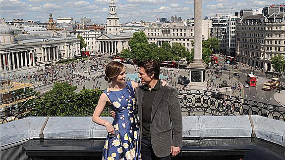 Премьеры фильма «Грань будущего» в Лондоне, Нью-Йорке и Париже