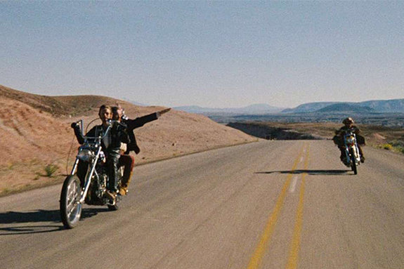 Кадр из фильма «Беспечный ездок»