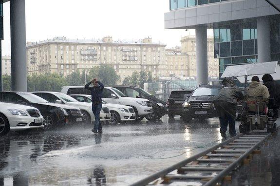 Ткачук под дождем