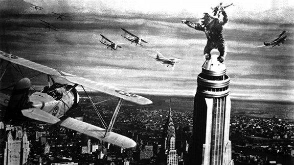 Кадр из фильма «Кинг-Конг», 1933 год