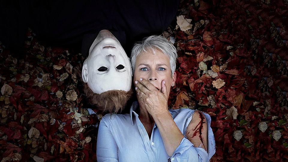 Джейми Ли Кёртис в фотосессии к фильму «Хэллоуин», 2018