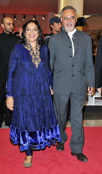 Мира Наир с мужем