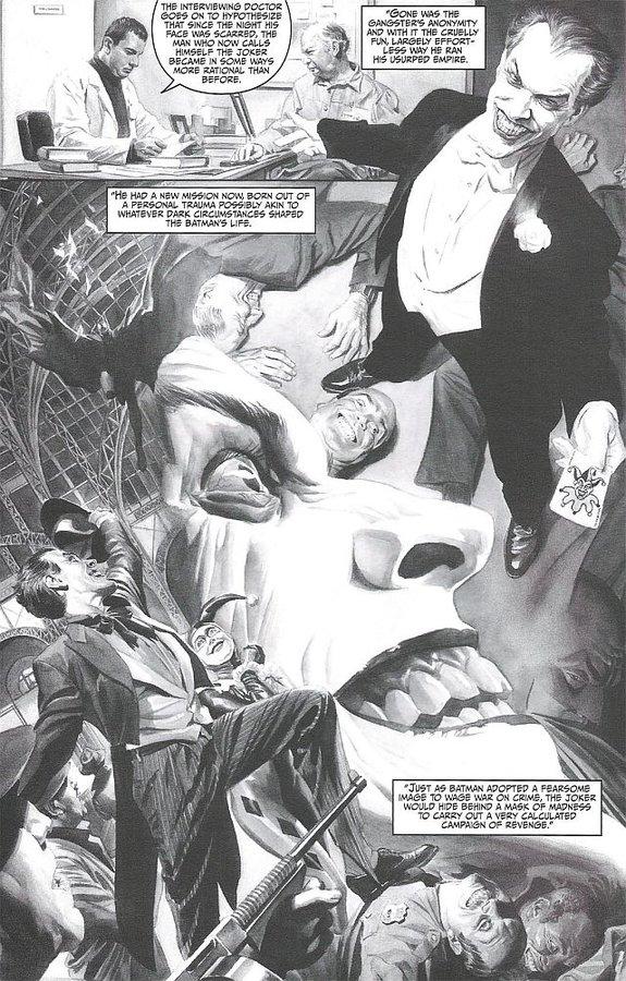 Фрагмент комикса «Batman: Black &White. Vol. 2»