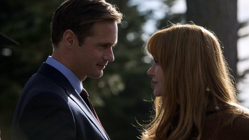 Александр Скарсгард и Николь Кидман в сериале «Большая маленькая ложь» / Фото: HBO