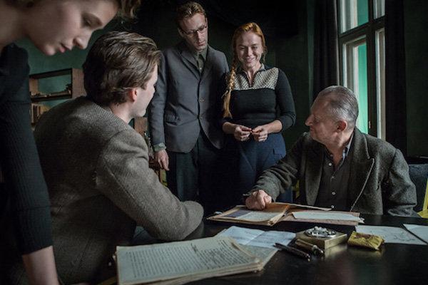 Съемки фильма «Послеобразы»