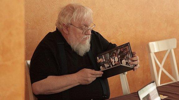 Джордж Мартин икомикс «Грезы Февра»/ Фото: Владислав Пастернак для КиноПоиска