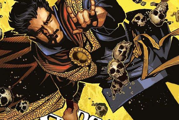 Фрагмент обложки комикса «Doctor Strange, Vol. 1: The Way of the Weird»