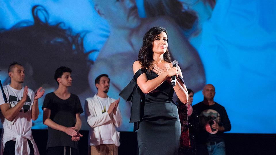 Анна Меликян на премьере фильма «Про любовь. Только для взрослых» / Фото: Элен Нелидова для КиноПоиска