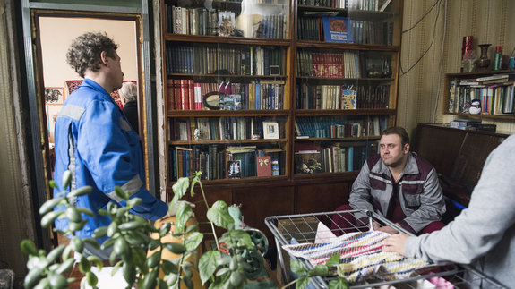 На съемках фильма «Аритмия» / Фото: Элен Нелидова
