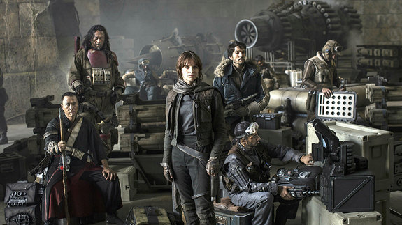 Кадр из фильма «Изгой-один: Звездные войны. Истории»