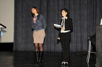 Надежда Котова (программный директор кинотеатра «35 ММ») и Ольга Белик