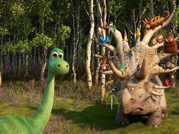 Динозавр, который выжил: О новом мультфильме студии Pixar [Кино]
