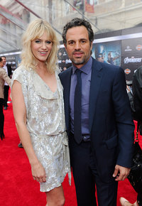 Марк Руффало с супругой