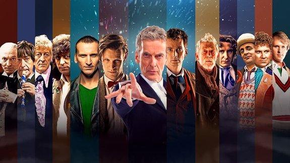 Здесь 13Докторов, нопока недумайте, почему не 12. Важно, что все это один персонаж.