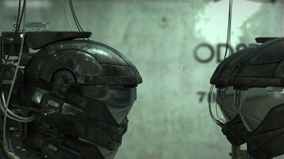 Кадр из видеоролика Halo: Arms Race, снятого Нилом Бломкампом