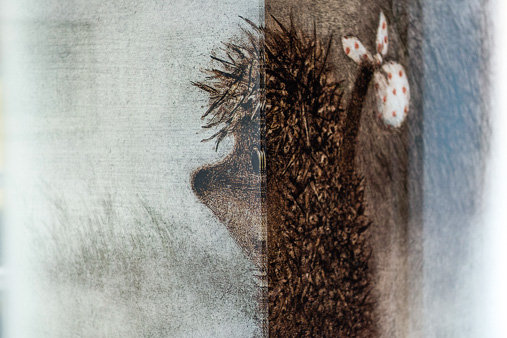Эскиз к «Ежику в тумане» / Фото: Элен Нелидова, КиноПоиск