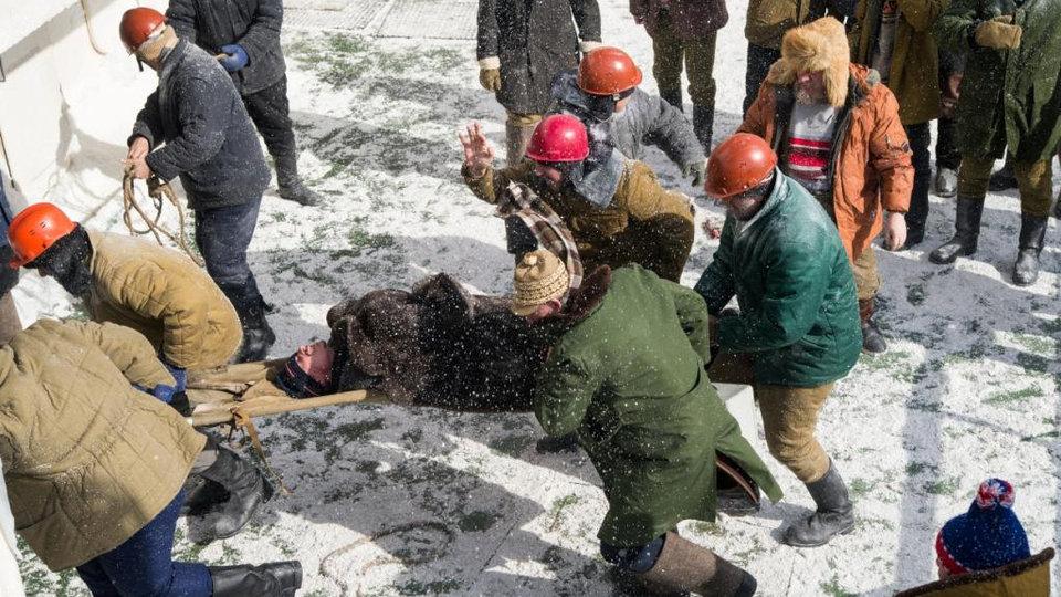 Съемки фильма «Ледокол» / Фото: Пресс-служба компании «Профит»