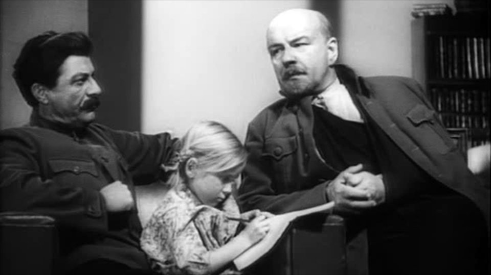 Кадр из фильма «Ленин вОктябре» Михаила Ромма