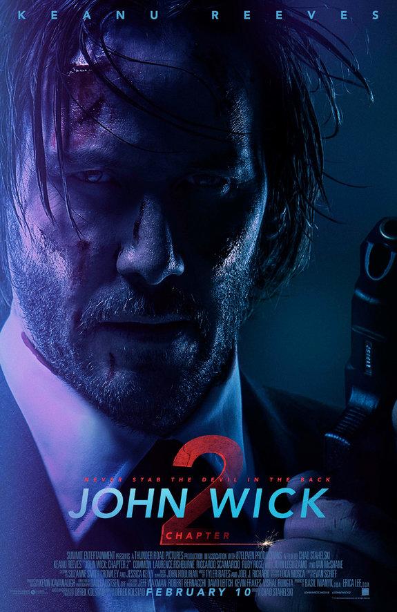 Второй трейлер и новый постер «Джона Уика 2» с Киану Ривзом